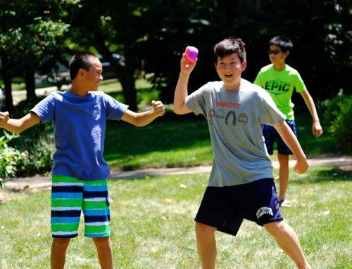 Future Athletes Practice with FreckleBall!