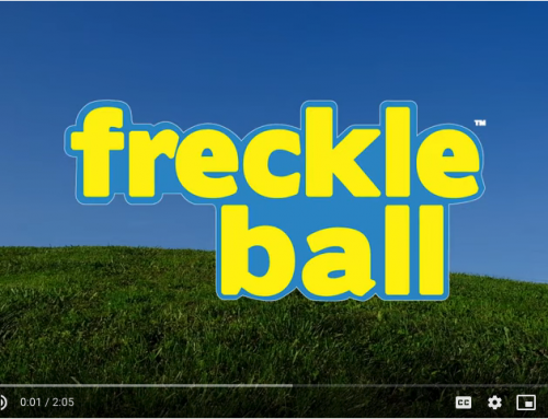 Introducing the One and Only FreckleBall!